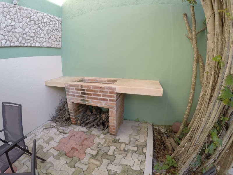 Outdoor Wood Grill