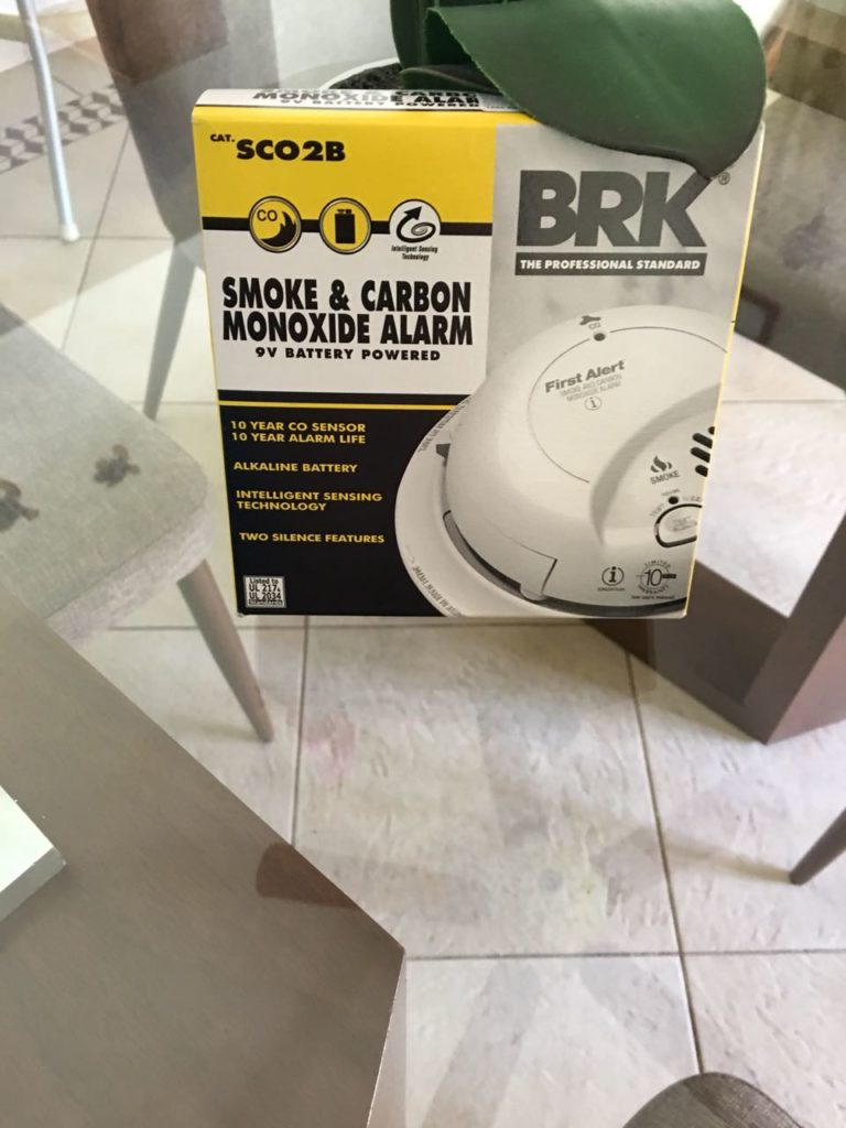 smoke co2 alarms